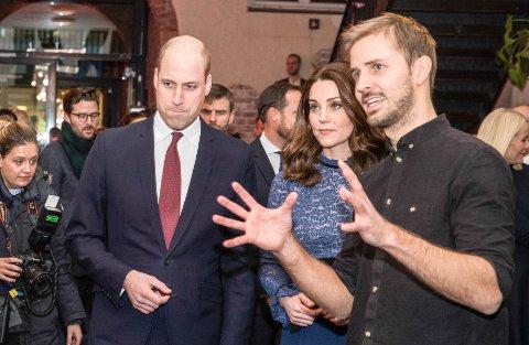 MESH: Prins William av Storbritannia og hertuginne Kate besøkte Norge i 2018 og møtte blant andre Anders Mjåset i MESH