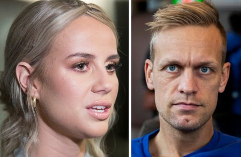 PENGER: Anniken Jørgensen og Mads Hansen hadde vidt forskjellig økonomisk suksess i fjor.