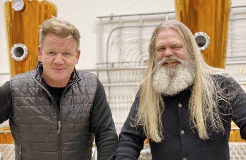 Gordon Ramsay besøkte Stig Bareksten under innspillingen av andre sesong av «Gordon Ramsay: Uncharted» i desember.