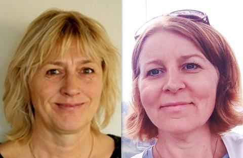 Nita Ørmen og Marina Sletten