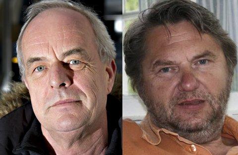 Terje Moland Pedersen og Jens O. Simensen har sin ufeilbarlighet til felles med partikollegene, ifølge Stig Røgeberg.