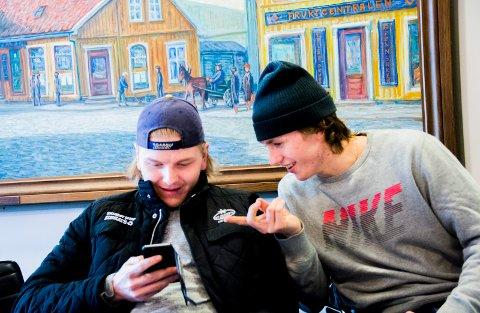 Ut på tur - igjen: Andreas Heier og Henrik Haukeland er tatt ut i landslagstroppen som skal til Østerrike. (Foto: Erik Hagen)