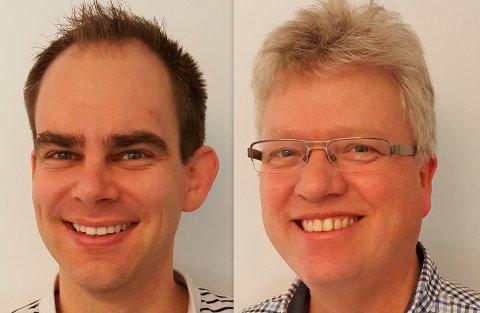 Tom Heine Nätt og Christian F. Heide.
