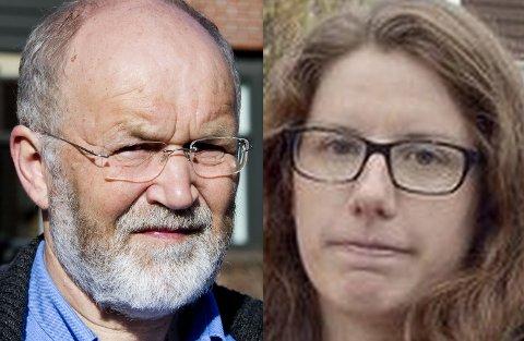 Steinar Vingerhagen og Emilie Cosson-Eide.