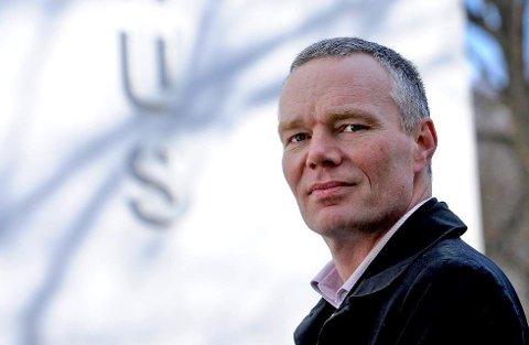 Søker: Espen N. Evensen ønsker å ta over som ny direktør for Medietilsynet. Tilsynet har sine kontorer i Fredrikstad sentrum.