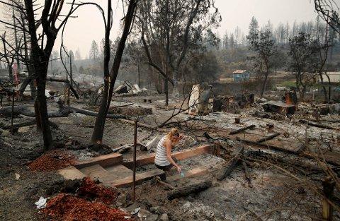 SER ENDRINGER: Delstaten California i USA opplever at skogbrannsesongen starter tidligere, varer lenger og er mer ødeleggende enn før, og forskerne peker på klimaendringer som en årsak. Nå kommer britiske, franske og nederlandske forskere med en ny modell som spår en uvanlig varm periode på jorda de neste fire årene. Illustrasjonsbilde.
