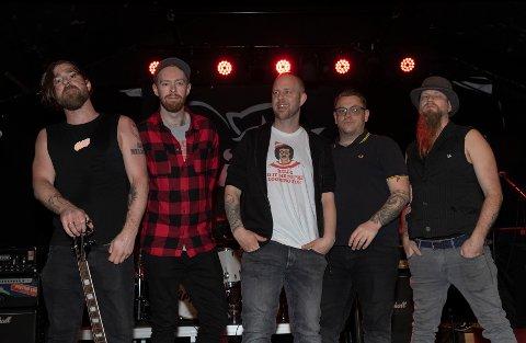 Vokalisten i Rise of the Phoenix og El Mapache bestående av Marius Skauen Johansen, Martin Hermansen, Martin Hostad og Tom Wormfield Markeng.