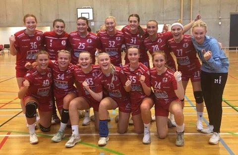 FBK-jubel i Tromsø: Juniorjentene til FBK er videre til neste kval-runde i Lerøyserien.