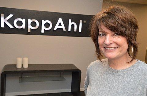 Leder virksomhet med milliardomsetning: Liv Berstad (57) har jobbet i KappAhl helt siden hun begynte som økonomisjef i 1988. KappAhl i Norge har de siste seks årene omsatt for nesten sju milliarder kroner.