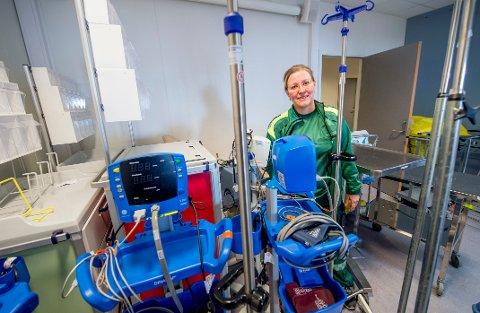Legevaktsjef Inger Marie Moksnes har hektiske dager på grunn av koronaviruset.