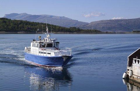 Hurtigbåten mellom Kjeldebotn og Evenes har blitt heftig debattert den siste tiden.