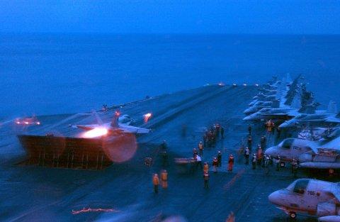 USS Harry S. Truman skal bringe soldater til øvelse i Norge. Foto: MICHAEL W. PENDERGRASS