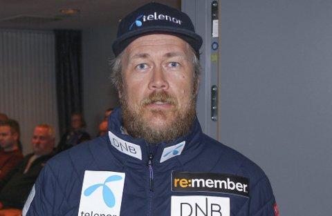 BLIR STORT: Stefan Johnsen Havnelid sier et junior-VM over ti dager er stort, og krever mye.– Vi må ha rundt 400 frivillige, sier leder i slalåmklubben. Begge foto: Mikael Marius Brendvik