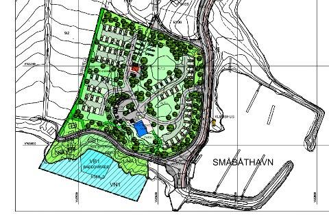 CAMPINGPLASS: I området rett ovenfor småbåthavna i Bjerkvik, ønsker Roger Martinsen å bygge campingplass.