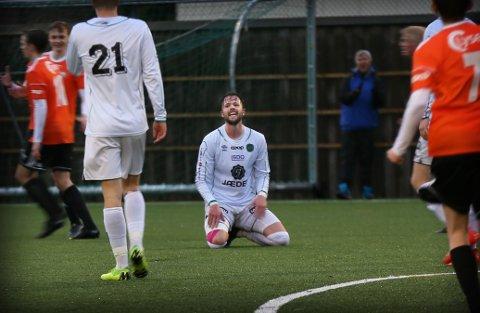 Arne-Amar Kotlica kribler etter å komme tilbake på fotballbanen igjen.