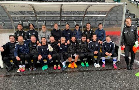 Flesteparten av disse Gjesdal FK-spillerne har fortid i Ålgård FK-systemet. Dit skal de ikke tilbake med det første.