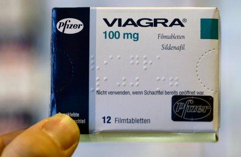 KAN VÆRE FARLIG: Virkestoffet i Viagra kalles sildenafil, og legemiddelet krever forsiktighet og at det kun gis ut til de som virkelig har behov for det.