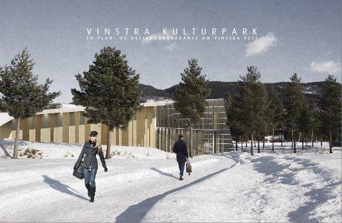 Konkurranse: Arkitekter har konkurrert om utformingen av Vinstra.