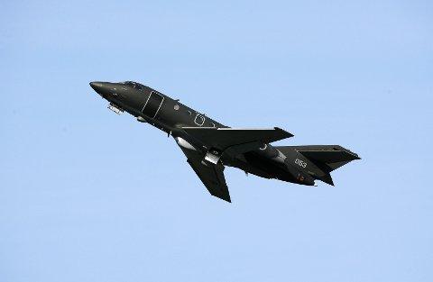 DA20 Jet Falcon er spesiallaget for elektronisk krigføring.