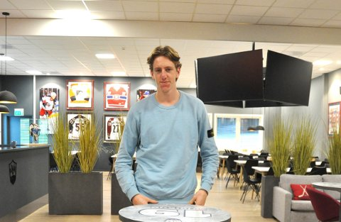 Sverre Rønningen (18), sisteårselev på NTG Lillehammer, er klar for spill på L.I.K.s a-lag de tre neste sesongene.