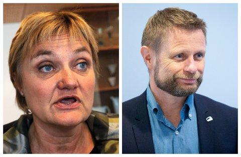 FIKK SVAR: Rigmor Aarud (Ap) ba helseminister utdype hva han mener «ved Mjøsbrua» betyr. Hun er ikke fornøyd med svaret.