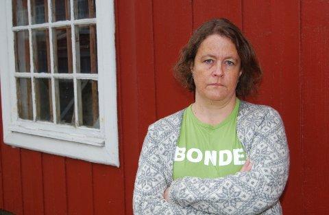 REAGERER: Leder Elisabeth Gjems i Innlandet bondelag er klar poå at statens tilbud er alt for lavt. Hun betegner det som et skambud.