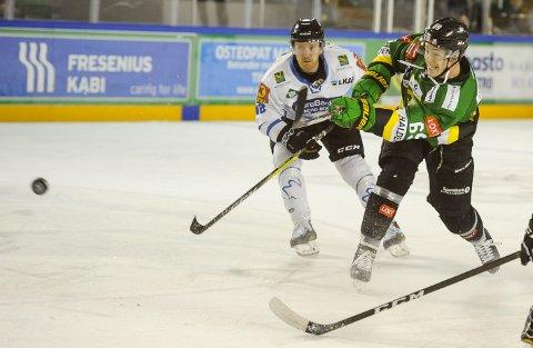 LØSKRUTT: Einar Egeland og Comet tapte 1-4 for Narvik lørdag.