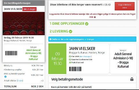 """DYRT: Viagogo skal ha 2004 kroner for billettene til """"Jahn vi elsker"""""""