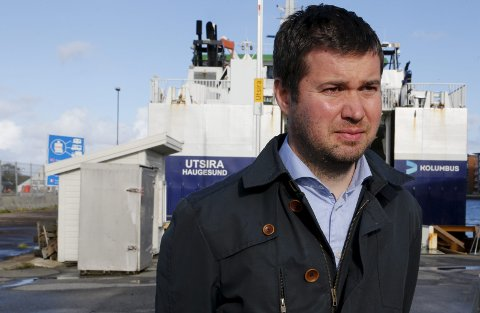Varsler kamp: Geir Pollestad mener småkommuner som Utsira er liv laga og kan utvikles videre.