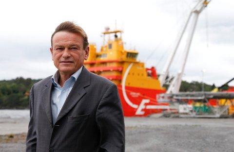 UTFORDRINGER: Administrerende direktør i Eidesvik Jan Fredrik Meling opplever utfordrende tider.