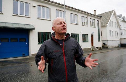 PÅ PRIORITERT PLASS: Geir F. Lie er en av nykommerne på listen til Haugesund Arbeiderparti. Han står på en av seks prioriterte plasser bak de fire forhåndskumulerte og foran de 44 kandidatene som er listet opp i alfabetisk rekkefølge.