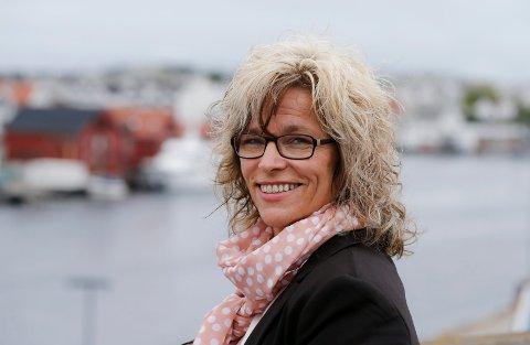 FÆRRE LEDIGE: Leder for Nav Marked Nord-Rogaland, Elisabeth Lie Nilsen, opplyser at tallene på arbeidsledige går betydelig ned