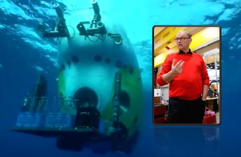 Daglig leder i Imenco, Geir Egil Østebøvik, elsker alt som er utfordrende, men innrømmer at han aldri hadde turt å være med «Striver» til 11.000 meters dyp. Det gjorde derimot tre kameraer fra Tysvær-selskapet.