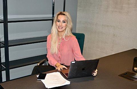 NY JOBB: Haugesunder Lene Tønnesen  er for de fleste kjent gjennom bloggen hun la ned for fire år siden. Nå har hun startet i ny jobb.