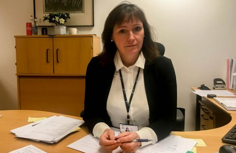 OVERSIKT: Ordfører Monica Nielsen i Alta jobber med å få oversikt over situasjonen i området hvor det har gått flere skred.