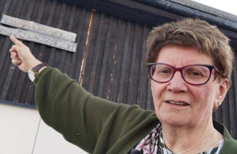 LANG FARTSTID: - Jeg trives, og jeg trives med å lede folk til å gjøre en god innsats, sier Ellen J. Sara Eira som har hatt den samme stillingen siden 1995.