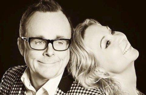 Gamle klassikere: Geir Langslet og Christine Meyer opptrer i prestegårdslåven på Aur søndag.