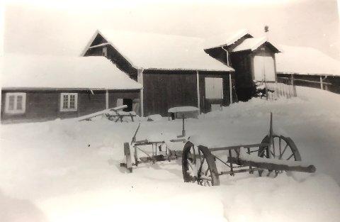 SNØRIKT: Slik så det ut i Aurskog 1. mai 1933. FOTO: PRIVAT