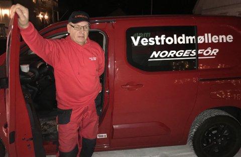KLAR FOR NYE UTFORDRINGER: Jan Tore Hagen har begynt i ny jobb hos Vestfoldmøllene.