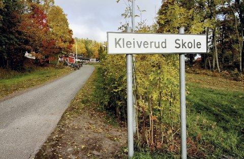 USIKKER FRAMTID: Ny Kleiverud skole kan bli satt på spill når en ny skolestruktur skal diskuteres.