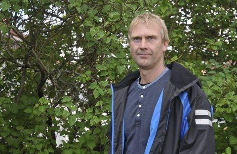 PÅ TOPP: Knut Jarle Sørdalen topper Senterpartiets kommunevalgliste i Kragerø.
