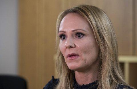 Rystende: Barne- og likestillingsminister Linda Hofstad Helleland (H) mener omfanget av #metoo er urovekkende høyt.Foto: Håkon Mosvold Larsen/NTB scanpix