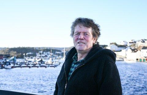 Mr. Rolling Stone: Stein Erik Lundgren har siden han hørte Stones-albumet Let it bleed på begynnelsen av 70-tallet vært hekta på bandet. Sammen med Signe har han reist verden rundt å sett på Stones-konserter.