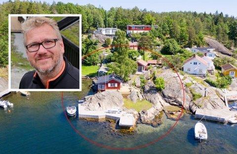 FRA KJØPER TIL SELGER: Stein Birger Johnsen kjøpte først fritidseiendommen på Vestre Borteid for 10 millioner, for så å selge for 250.000 kroner mer to uker senere.