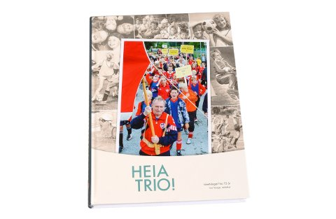 Jubileumsboka til IL Trio er no klar, og du kan delta i trekninga av eit eksemplar viss du deltar i quizen vår!