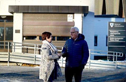 Lise Lund og Morten Eriksrød fra Buskerud Høyre sier de vil gjøre Kongsberg videregående skole enda bedre gjennom en todeling.