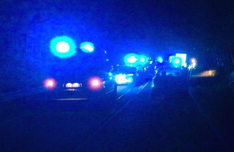 OMKOM: En kvinne omkom i ulykken på Meheia natt til tirsdag.