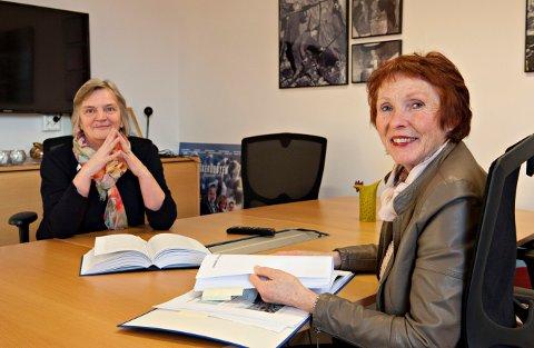 Både rådmann Wenche Griderud og ordfører Kari Anne Sand feltok på møtet med veivesenet og fylkeskommunen.
