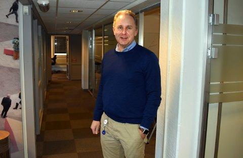 Flere jobber: Avinor satser på autonome løsninger som det norske selskapet Øveraasen skal levere, mens Kongsberg-selskapet Yeti Move står for teknologien. Direktør i Yeti, Peter Due, sier dette er en viktig avtale for selskapet og kan bety flere jobber på Kongsberg.