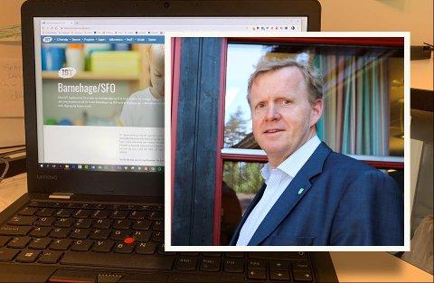 KRAV: Håvard Ulfsnes, kommunalsjef for oppvekstsektoren, barn og familie i Kongsberg kommune, jobber med å følge opp kravet fra Datatilsynet.